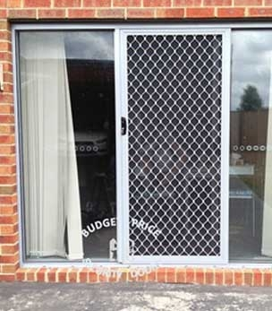 Diamond Grille Doors